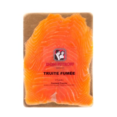 Truite Fumé 4 tranches - 120g